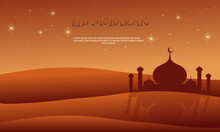 Stock Vector Islamic Design Illustration Concept Happy Eid Background Part 1