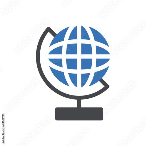 Obraz na plátne globe