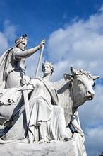Allegorical Statue Of Europe, Albert Memorial