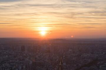 파리의 노을 / The sunset in Paris