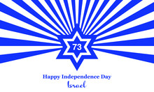 Israel Independence Day, Israel, Independence Day, Independence, Star Of David, Day, Yom Haatzmaut, Illustration, Vector, Flag, Blue, White, National , Star, Stars, Holiday, Symbol, Flag, Abstract