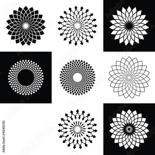 Obraz na plátně set of elements for design