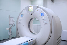 CT (Computed Tomography) Scanner In Hospital Laboratory. CT Scan An Advance Technology For Medical Diagnosis