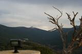 krajobraz góry drzewa niebo las