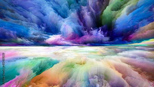 Obraz Source of Land and Sky - fototapety do salonu
