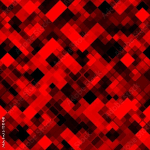 Obraz Digital camouflage seamless pattern military geometric camo background - fototapety do salonu