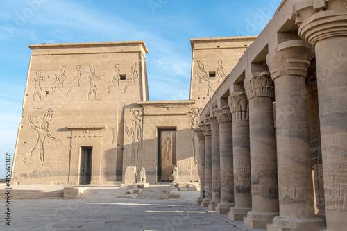 Obraz na plátně Philae Tempel von Isis