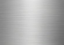 ヘアラインテクスチャ素材。ステンレス板背景イメージ。