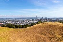 Paysage Urbain Et Mont Eden à Auckland, Nouvelle Zélande