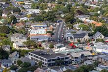 Avenue D'un Quartier Résidentiel à Auckland, Nouvelle Zélande