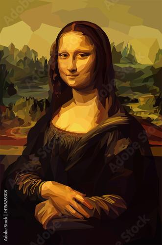 Obraz na plátne Mona Lisa La Joconde