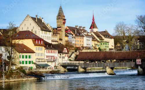 Bremgarten historical Old town, Aargau, Switzerland © Boris Stroujko