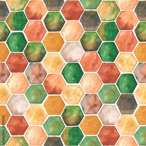 watercolor-background-with-hexagons