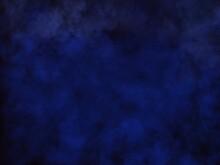 Stormy Gloomy Dark Blue Sky Abstraction Background