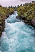 Rapides Des Chutes Huka, Nouvelle Zélande
