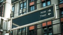 Street Sign Now Versus Then