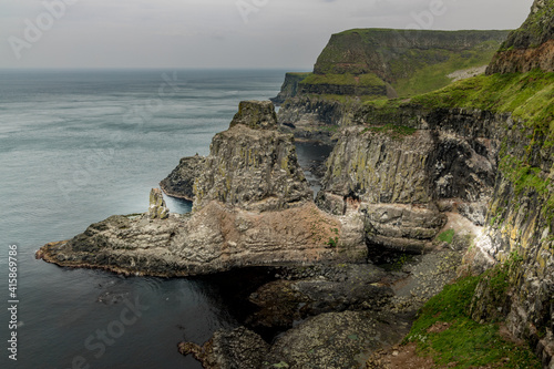 Rathlin Island West, RSPB Bird sanctuary, County Antrim, Northern Ireland Fototapete