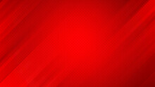 Abstract Red Dot Pattern Background With Stripes