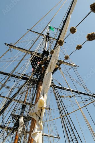 Canvas-taulu The brig Lady Washington, Victoria