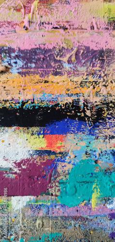 Fototapeta Abstrakcja malarska 1 obraz