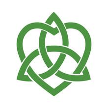 Stylized Celtic Trinity Knot, Vector
