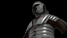 3d Rendered Illustration Of Roman Empire Soldier Armor. High Quality 3d Illustration