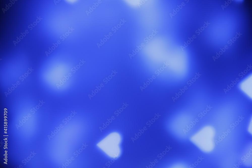 Fototapeta Tło niebieskie abstrakcyjne bokeh