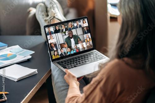 Online briefing Fotobehang