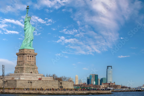 The statue of Liberty in Manhattan, New York City © f11photo