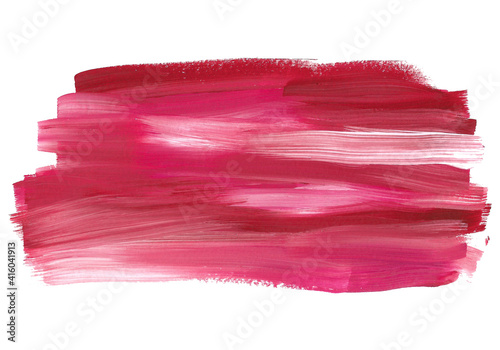 Tablou Canvas Pink abstract gouache background