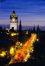 Princes Street, Edinburgh, Scotland, UK