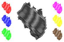 Yancey County, North Carolina State (U.S. County, United States Of America, USA, U.S., US) Map Vector Illustration, Scribble Sketch Yancey Map