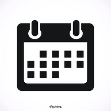 Calendar Flat Mobile Icon