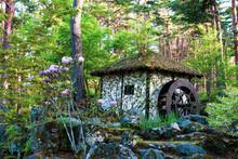 水車のある小屋