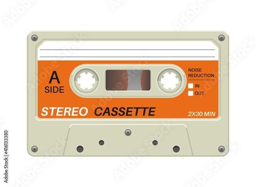 Canvastavla Retro cassette