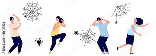 Fényképezés Arachnophobia