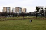 Fototapeta Londyn - boisko na osiedlu poznań