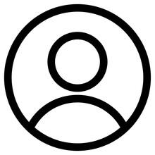 Person Icon Symbol Illustration Design, People Illustration Icons Vector, User Profile Login Or Access Authentication Icon Vector Illustration Image, Person Icon, User Icon For Web Site, Avatar