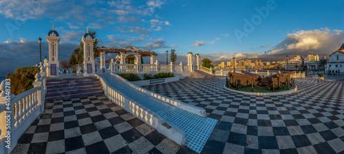 Mirador del Castell, viewpoint, Benidorm, Alicante, spain