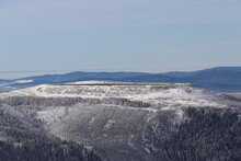 A Winter View To The Hydro Power Plant At The Top Of The Mountain Dlouhe Strane, Czech Republic
