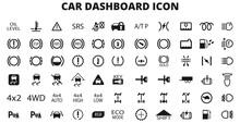 Car Dashboard Icon Set