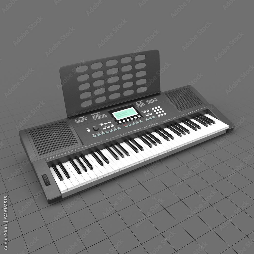 Fototapeta Musical keyboard