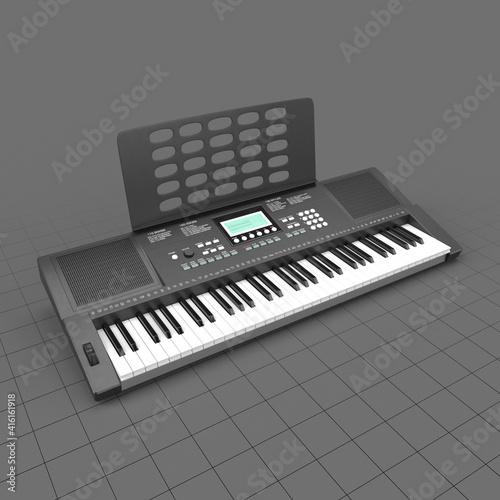 Fototapeta Musical keyboard obraz
