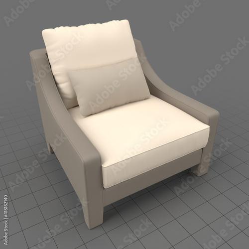Fototapeta Modern armchair 7 obraz