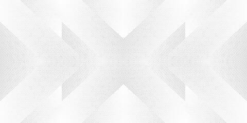 Luxury geometric seamless striped pattern. Modern vector symmetric ornament.