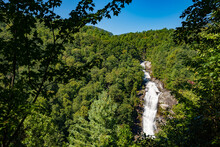 Lower Whitewater Falls, Just Above Lake Jocassee In Salem, SC.