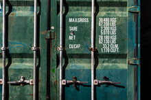 Metal Shipping Container Double Doors In Brazil