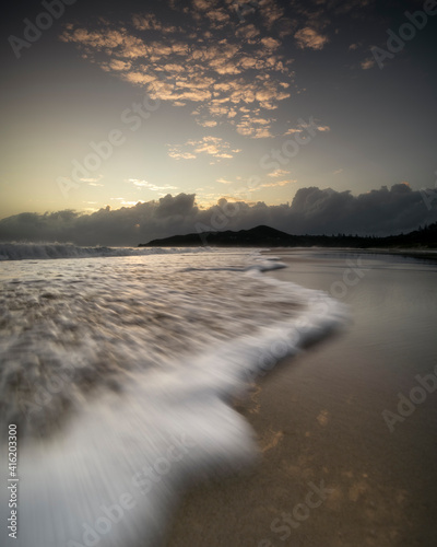 Byron Bay at sunset,  Byron Bay Australia Fototapet