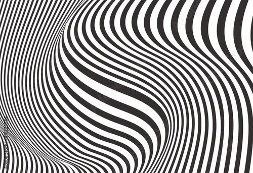Fototapeta premium abstract optical illusion background