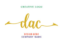 DAC Lettering Logo Is Simple, Easy To Understand And Authoritative